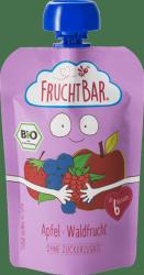 FruchtBar Bio Wegański mus Jabłko Owoce Leśne