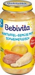 Bebivita Ziemniaki Pasternak Mięso Wieprzowe od 12m 250g