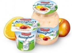 Ehrmann Almighurt Jogurt Nektarynka-Pomarańcz Słoik