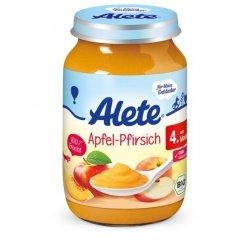 Alete Bio mus pure Jabłko Brzoskwinia 190 4m