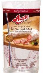 Aoste Ring-Salami 250g Typu Francuskiego Z Niemiec