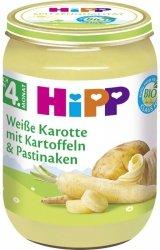 Hipp Bio Biała Marchewka Pasternak Ziemniaczki 4m 190g