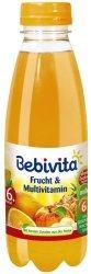 Bebivita Sok Jabłko Pomarańcza Ananas Mango 6m 500ml