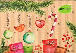 Alverde Kalendarz Adwentowy z Naturalnymi Kosmetykami