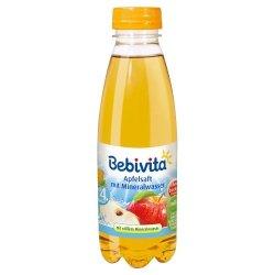 Bebivita soczek jabłkowy z wodą mineralną od 4m. 0,5l