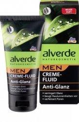 Alverde Men krem fluid Matujący Naturalne Kosmetyki