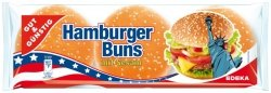 Gotowe Bułki Hamburgerowe z Sezamem 300g