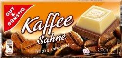 GG Duża Biała Czekolada z Dodatkiem Kawy 200g