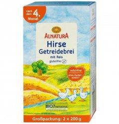 Alnatura Bio kaszka Jaglana Ryż B/Gluten 4m 400g