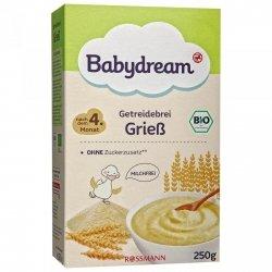 BabyDream Bio Bezmleczna kaszka manna 4m 250g