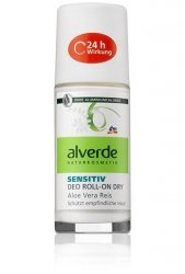 Alverde Sensitiv dezodorant w kulce Aloe Vera Ryż
