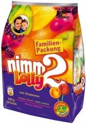 Nimm 2 Lolly Lizaki Z Wit. Mega Paka 20szt