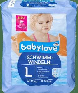 Babylove Pieluszki do pływania na Basen od 12kg 12szt
