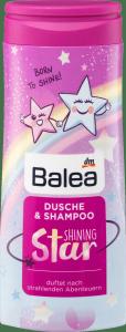 Balea Szampon i Żel dla Dziewczynki Shining Star 300