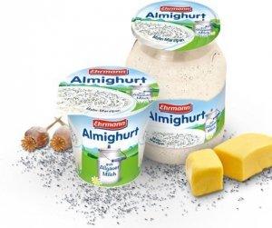 Ehrmann Almighurt Jogurt Marcepan Mak Słoik