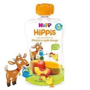 Hipp Hippis 100% Owoców Brzoskwinia Mango Jabłko 100g