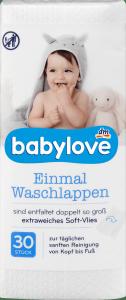Babylove Myjki Kąpielowe Myjka do kąpieli 21x25 30szt