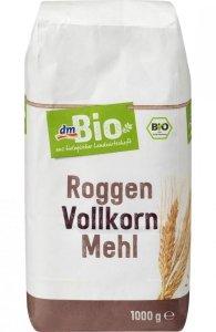 BIO Ekologiczna Mąka razowa żytnia chlebowa 1 kg