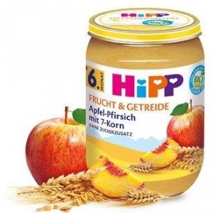 Hipp Bio Deser Jabłko Brzoskwinia 7 Zbóż 6m 190g
