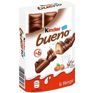 Ferrero Kinder Bueno Batoniki Orzechowe Nadzienie 129g