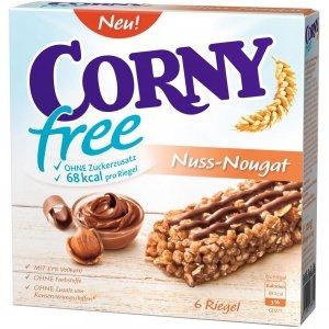 Corny Free Batoniki Zbożowe Nugatowe B/Cukru Dieta