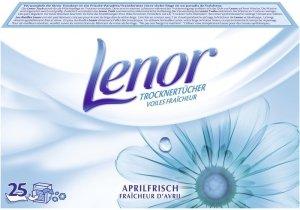 25x Lenor Aprilfrisch chusteczki zapachowe DE