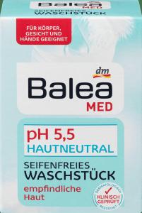 Balea Med Balsam do mycia w kostce pH 5,5  Neutral 150g