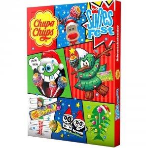 Chupa Chups Kalendarz Adwentowy Mikołajki Święta mix Słodyczy