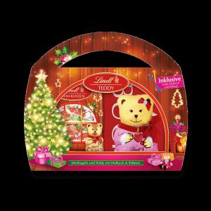 Lindt  Teddy Różowy Czekoladki Kolorowanka 180g