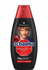 Schauma Karbon Men Wzmacniający szampon włosów 400 ml