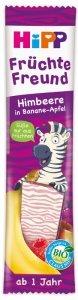 Hipp Bio Batonik Zebra Malina Jabłko Banan 1r NEW