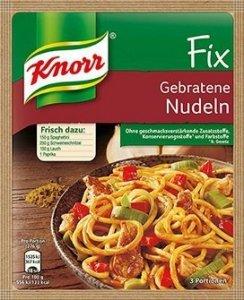 Knorr Fix Makaron Po Azjatycku Na Patelni