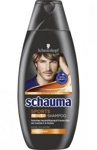 Schauma Men Sport Power szampon do włosów 400 ml