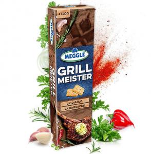 Meggle Grill Meister Diablo Barbecue Masło Ziołowe 5x20g