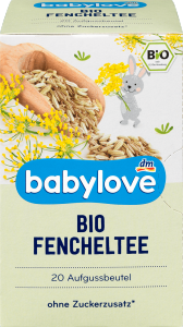 Babylove Bio Herbatka Koperkowa 20x2g 2 tydzień