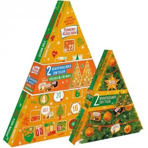Ferrero Kusschen 2 Kalendarze Adwentowe dla Pary
