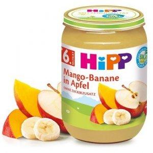 HIPP BIO Owoce Mango Banan Jabłko Witaminy 190g 6m