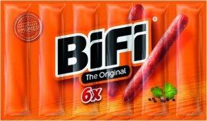 BiFi Oryginalne Mini Salami 6pack 6x22,5g 135g