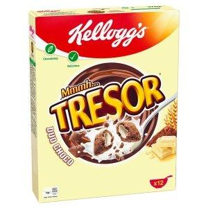 Kellogg's Tresor Poduszki Z Białą Czekoladą Do Mleka 375g