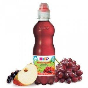 Hipp Bio Soczek Czerwone Owoce Woda Mineralna 0,3L 1r