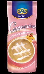 Kruger Cappuccino Haselnuss Waffel Wafelki Orzechowe 500g