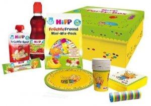 HIPP Kinder Party Kubki Talerzyki Serwetki Serpentyna