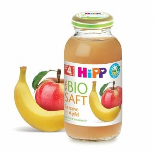 Hipp Bio Sok 100% Jabłko Banan Witamina C 4m 200ml