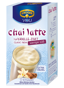 Kruger Chai Latte Mleko Cynamon Wanilia bez cukru 250g