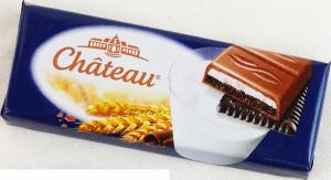 Chateau Ciasteczka Black Keks czekolada Nadzienie 33,3g