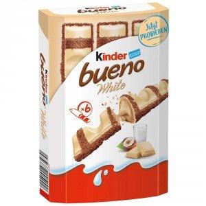 Ferrero Kinder Bueno White Batoniki Orzechy Nadzienie 117g