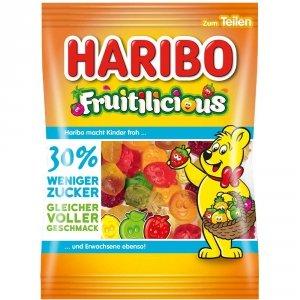 Haribo Żelki Owocowe FRUITILICIOUS 30% mniej cuktu 160g