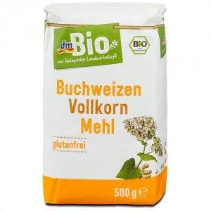 BIO Ekologiczna Bezglutenowa Mąka Gryczana 500g