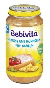 Bebivita Kurczak Warzywa Makaron 12m 250g