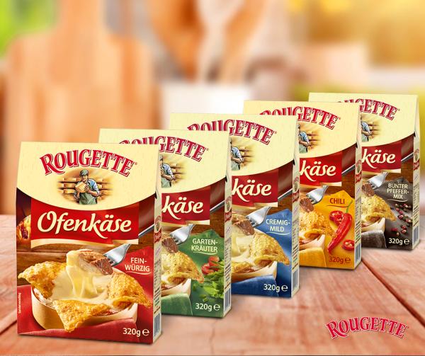 Rougette Ofenkase ser do zapiekania 320g Chili